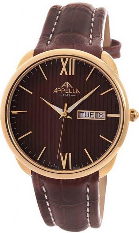 Мужские наручные часы Appella Аппелла купить в интернет
