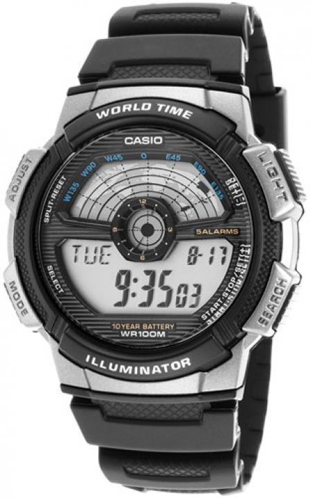Часы Casio AE-1100W-1AVEF