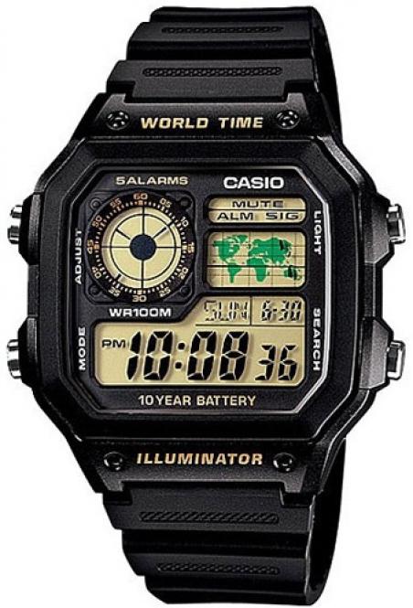 Часы Casio AE-1200WH-1BVEF