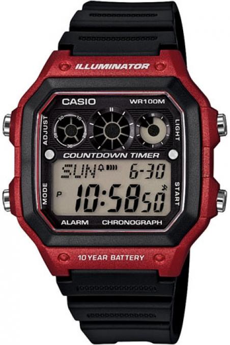 Часы Casio AE-1300WH-4AVEF