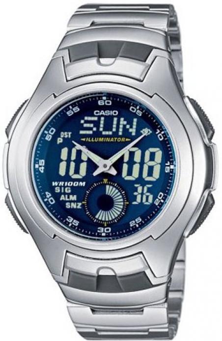 Часы Casio AQ-160WD-2BVEF