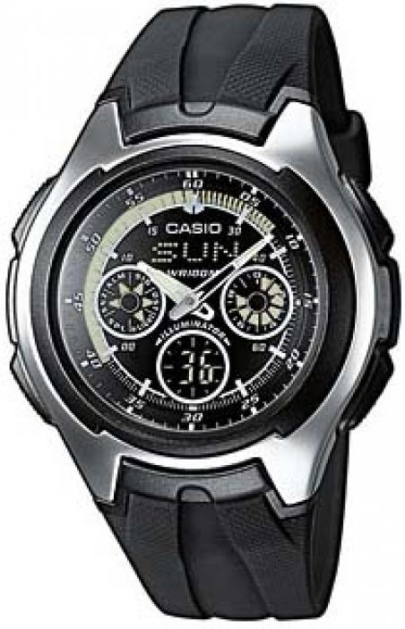 Часы Casio AQ-163W-1B1VEF