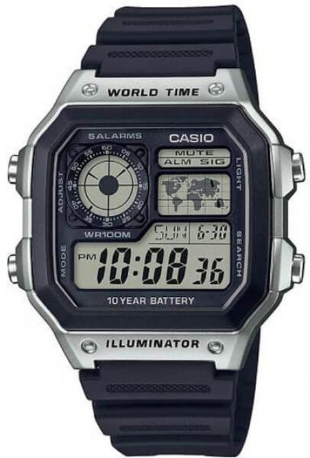 Часы Casio AE-1200WH-1CVEF
