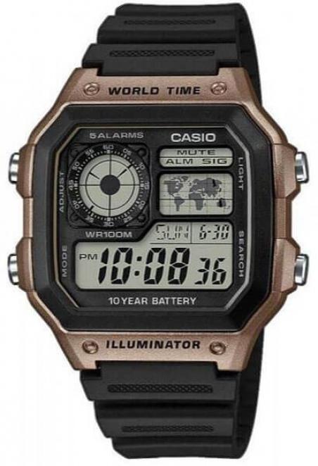 Часы Casio AE-1200WH-5AVEF