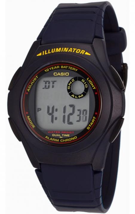 Часы Casio F-200W-2ADF