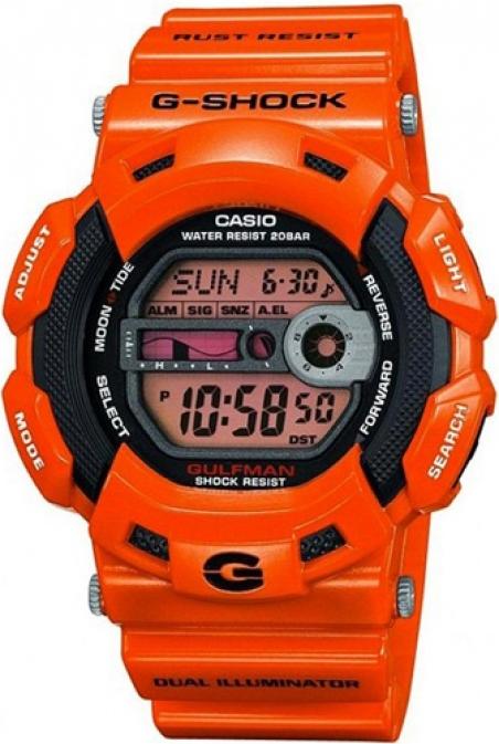 Часы Casio G-9100R-4ER