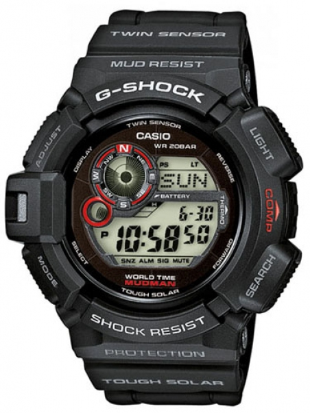 Часы Casio G-9300GY-1ER