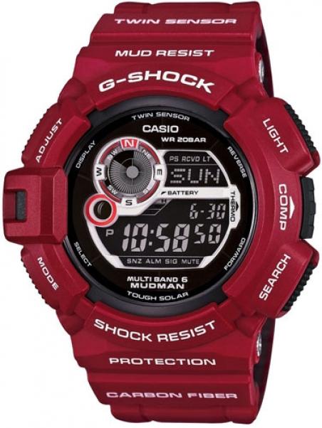 Часы Casio G-9300RD-4ER