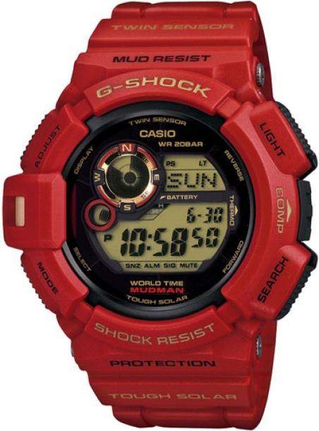 Часы Casio G-9330A-4ER