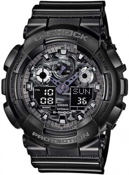 Часы Casio GA-100CF-1AER
