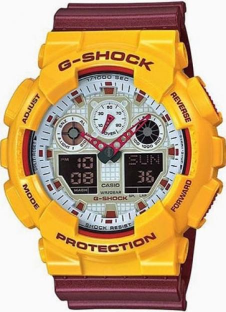 Часы Casio GA-100CS-9AER