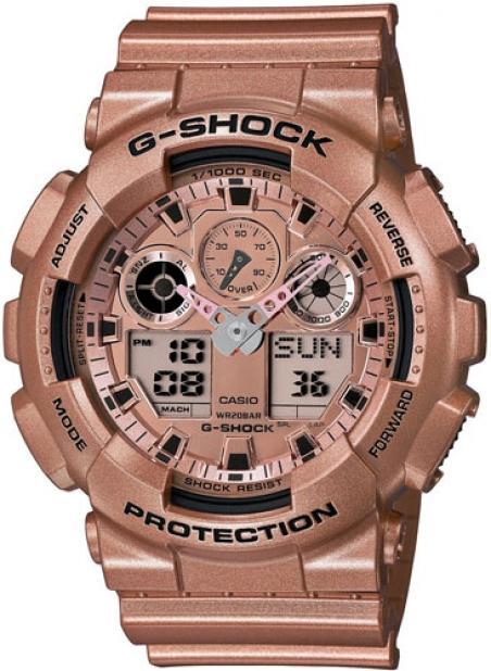 Часы Casio GA-100GD-9AER
