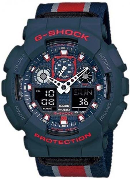 Часы Casio GA-100MC-2AER