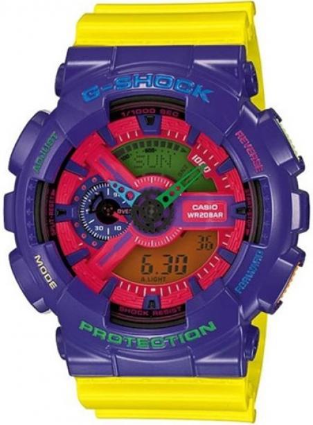 Часы Casio GA-110HC-6AER