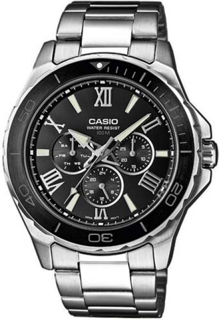 Часы Casio MTD-1075D-1A1VEF