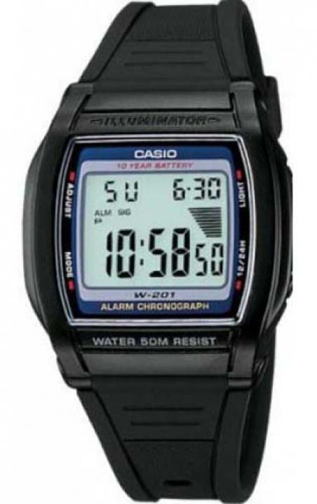Часы Casio W-201-2AVEF