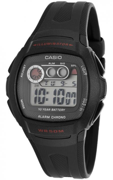 Часы Casio W-210-1CVEF