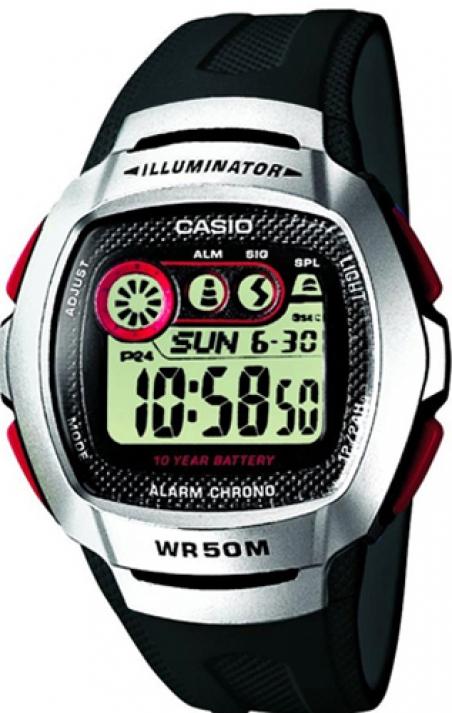 Часы Casio W-210-1D
