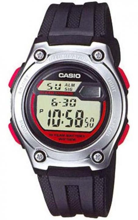 Часы Casio W-211-1BVEF