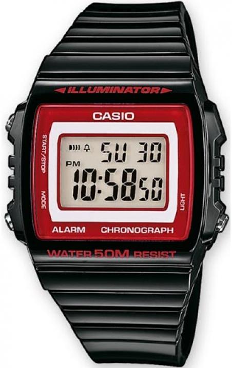 Часы Casio W-215H-1A2VEF
