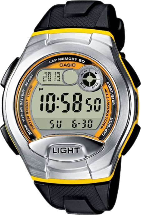 Часы Casio W-752-9BVEF
