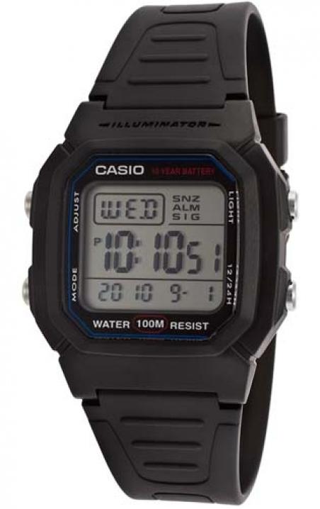 Часы Casio W-800H-1AVEF
