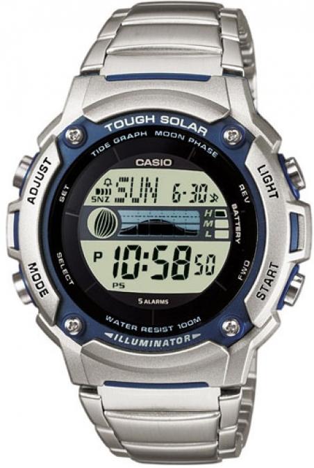 Часы Casio W-S210HD-1AVEF