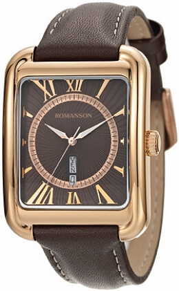 Часы Romanson TL0353MRG BROWN
