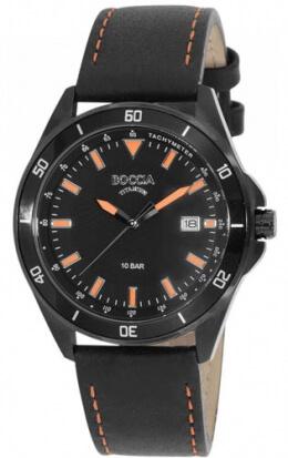 Мужские немецкие наручные часы boccia наручные кварцевые часы без секундной стрелки